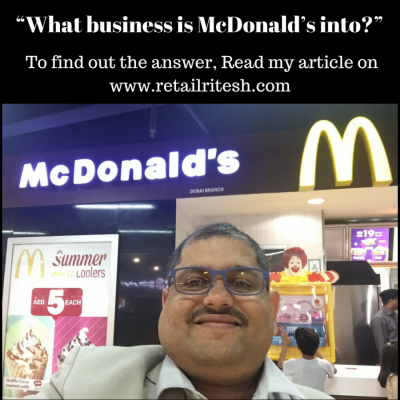 """""""What business is McDonald's into_"""""""