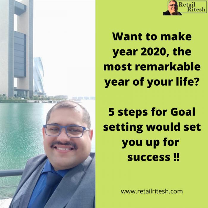 5 steps for goal settings